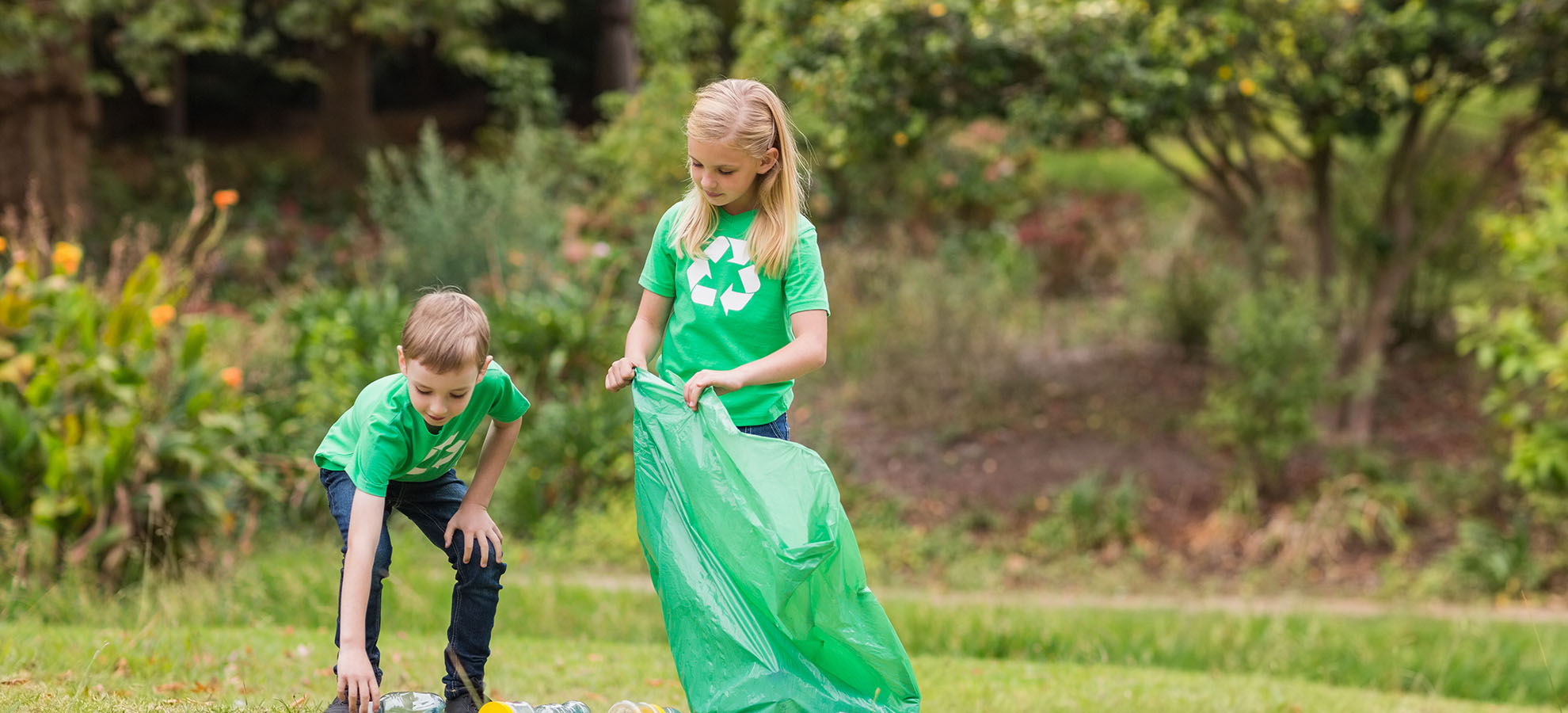 LEAP2green children looking after their environment